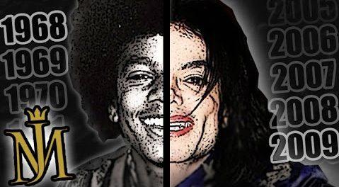 マイケル・ジャクソン、整形しすぎワロタ・・・ 顔面の変化を振り返った動画が話題に