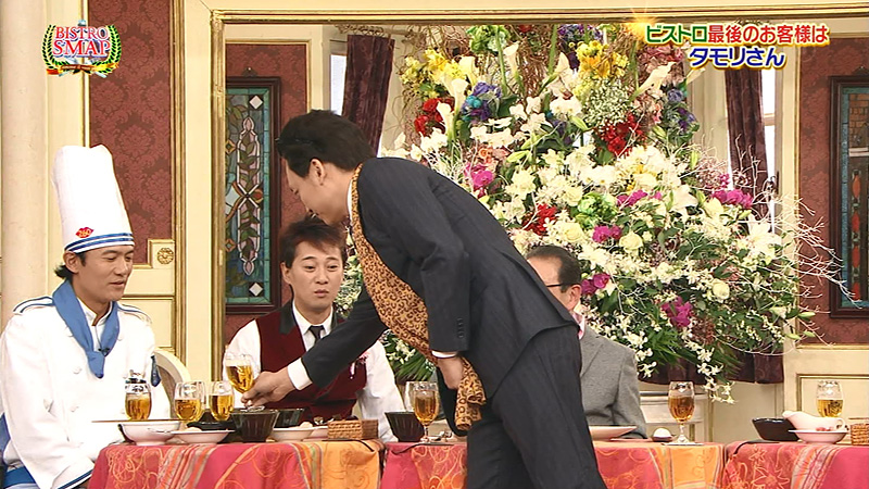 SMAPxSMAP タモリ 香取 木村 乾杯せず 01