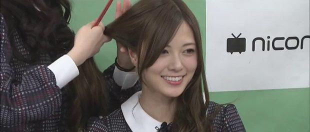 【悲報】乃木坂46白石麻衣のツインテール姿がキツイ