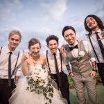 SiMのMAHさん、ハーフタレントのダーブロウ有紗との結婚を発表