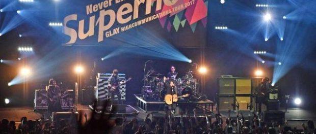 TERU、ライブMCで「20年後もGLAY」宣言
