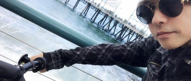 ラルクhyde「彼氏とサイクリングなう」 → ラルヲタ「キャァァアァァアアアアアア!!!!」