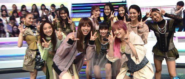 【Mステ】11人になった新生E-girlsの感想wwwwwww(動画あり)
