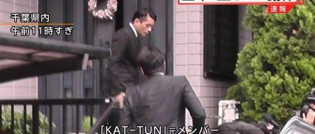 釈放の田中聖、自宅前で深々と頭を下げ謝罪