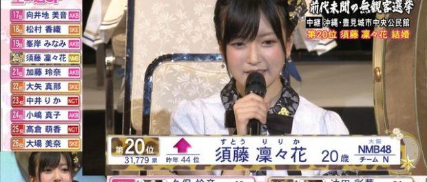 須藤凜々花の結婚発表 VS 飯田圭織バスツアー