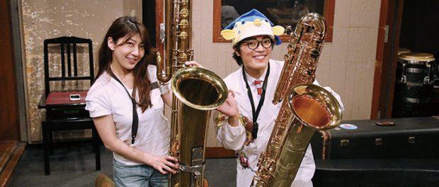 さかなくんが美人サックス奏者・小林香織と熱愛wwwwwwwww