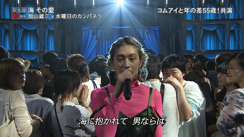 FNSうたの夏まつり2017 加山雄三 水カン