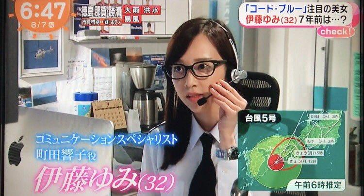 コードブルー 伊藤ゆみ iconiq