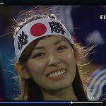 【エンタメ画像】FIFA公式映像に写ったきゃわたんサポーター、元グラビアアイドルだった!!!!!!!!!!!!!!!!!!