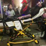 マリリン・マンソンの事故の瞬間の動画www ライブ中セットの下敷きになり緊急搬送される