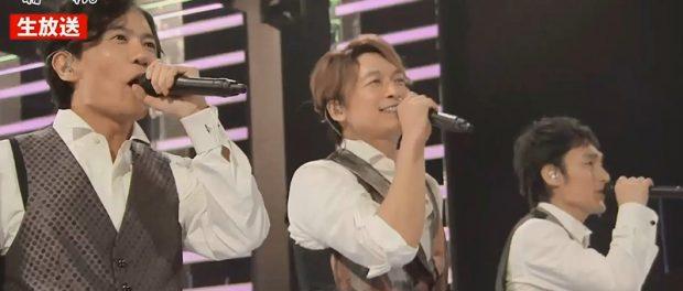 元SMAP 稲垣草彅香取「72時間ホンネテレビ」フィナーレで72曲ライブ セトリはこちら(画像あり)