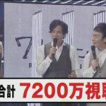 元SMAP3人は大人気だったwww 番組視聴数が7200万超えで世界一注目を集めた番組に(感想)
