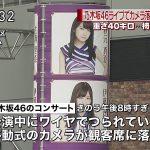 【エンタメ画像】乃木坂46の都内ドームライブで40㌔のカメラが客席に落下する事故が起きていた♪ 怖すぎだろ!!