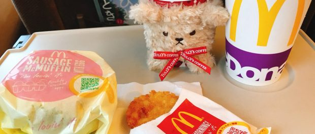高橋みなみさん、新幹線の車内でマックを食べてしまうwwwwwwwwwww