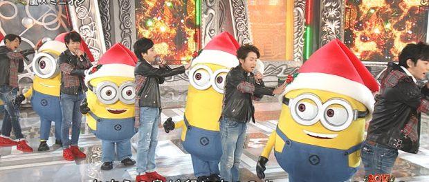 """【朗報】嵐が""""アノ""""FNS歌謡祭で口パクじゃなくて生歌wwwwwwww(動画あり)"""