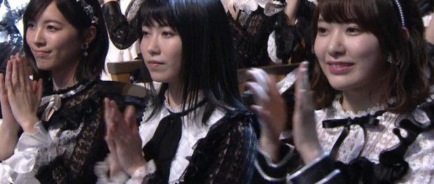 乃木坂レコ大獲得時のAKB総監督横山由依さんの顔がヤバイwwwwwwww