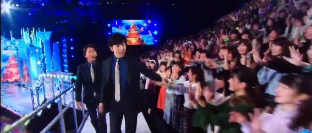 「Mステスーパーライブ」で松潤に触った観客にアラシックブチギレwwwwwww