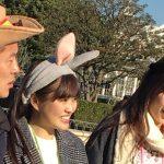 乃木坂メンバーがディズニーで盗撮されるwwww 高山一実と伊藤かりんが井戸田潤とロケか