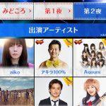 【朗報】FNS歌謡祭にラブライブのAqours出演決定wwwwwwww