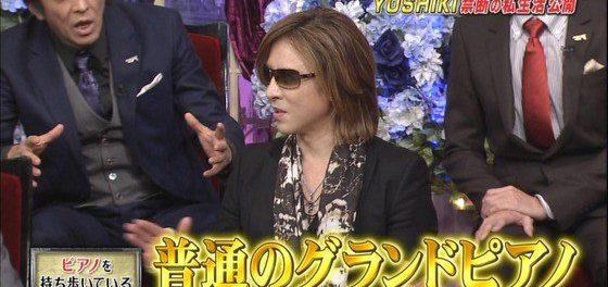 YOSHIKI、「ピアノ」をいつも持ち歩いてると判明wwwww ホテルにはクレーンで搬入