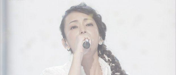 紅白に出た安室奈美恵(40)の顔が白すぎると話題wwwww
