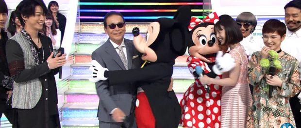 ミッキーマウスとディズニーの仲間たちがMステ2時間スペシャルに出演!豪華な35周年SPメドレーに視聴者大興奮(動画あり)
