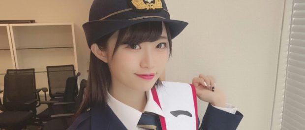 富山に現れた一日消防署長の美少女は誰だと話題にwwwwwwww