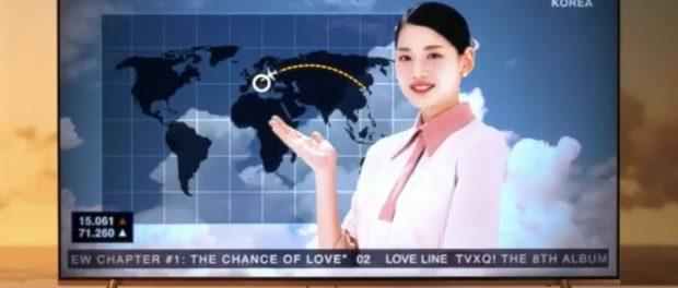 東方神起の最新MVで日本列島が削除される