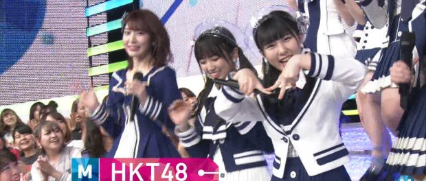 HKT48田中美久さん、Mステで「Mポーズ」を披露しジャニヲタの怒りを買うwwww