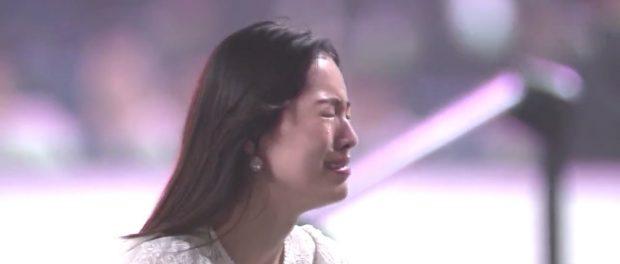 松井珠理奈、AKB総選挙の開票イベント前コンサートで初っ端から号泣 → 過呼吸でぶっ倒れ退場www