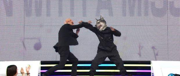 Mステでいきなり豚と狼がバトルしててワロタwwwwwww(動画あり)