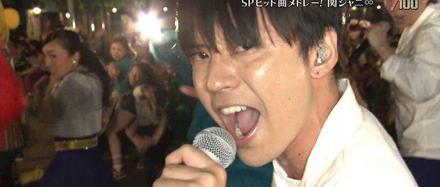 関ジャニ・渋谷すばる、「テレ東音楽祭」最後の出演 USJで「LIFE~目の前の向こうへ~」「キング オブ 男!」熱唱(動画あり)