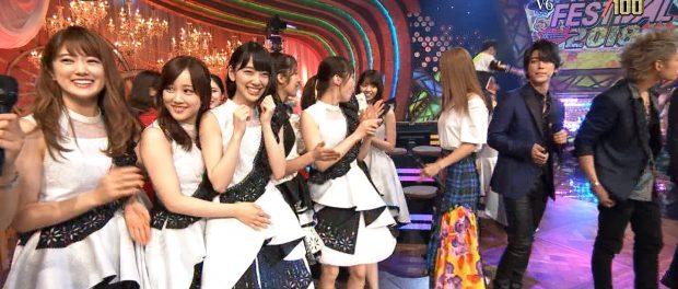 テレ東音楽祭で亀梨和也が乃木坂をガン見wwwww 誰を見ていたんだ?