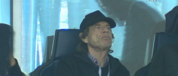 ロシアW杯準決勝「フランスvsベルギー」の中継にミック・ジャガーが映り込むwwwwwwwww