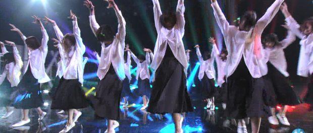 【画像】Mステに出た欅坂46さんが某宗教団体信者みたいだと批判殺到かwwwwwwwwwwwww