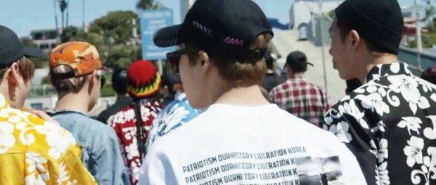 原爆Tシャツのデザイナーが謝罪「反日の意図はなかったんや」「ごめんやで」 BTSメンバー着用で物議