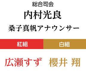 2018年の『第69回NHK紅白歌合戦』司会が大決定!! 白組 櫻井翔・紅組 広瀬すず 総合司会は2年連続内村光良