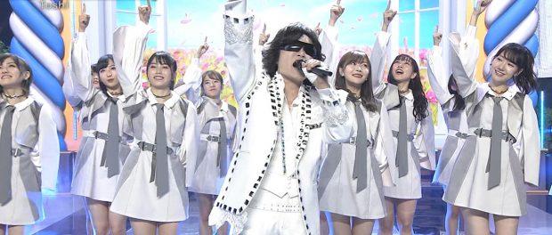 ベストヒット歌謡祭2018でToshlがAKBの曲をガチ熱唱wwwwwwwww なお、AKB48はバックダンサー(動画あり)