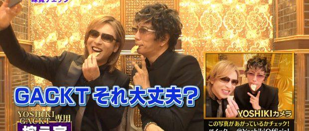 格付けでお菓子食ったりJKみたいに自撮りしまくるオッサン2人(GACKTとYOSHIKI)のノリが正直ウザいと思ってる奴(動画あり)