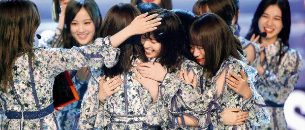 乃木坂連覇「レコ大2018」高視聴率の大勝利wwwww