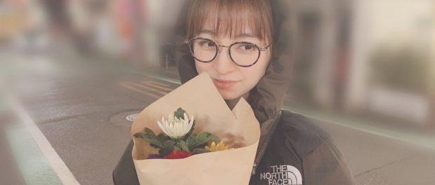【悲報】篠田麻里子さん、AKBの後輩から菊の花を贈られてしまう