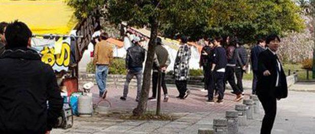 【目撃情報】女さん「鶴舞公園に嵐おるやーん!」パシャッ