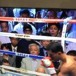 【画像】ボクシング井岡一翔の試合中継にワンオクTaka・UVERworld TAKUYA∞・AK-69ら写りこみ話題に