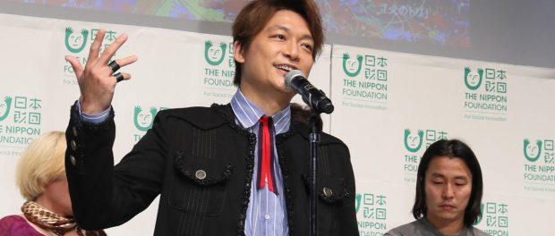 日本財団トップが元SMAPのテレビ復帰を後押しwwww