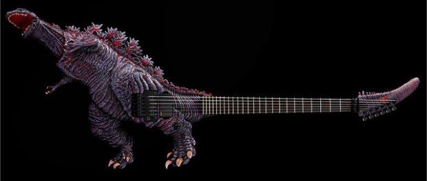 高見沢俊彦デザインのゴジラギターのお値段wwwww