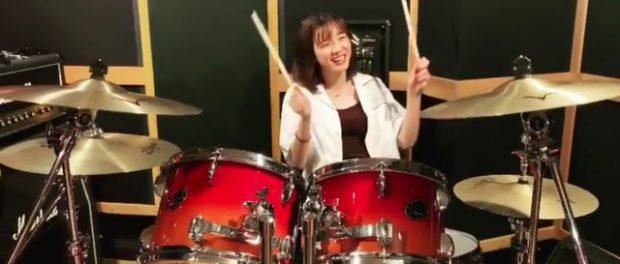 【動画】女優・永野芽郁のドラムの腕前