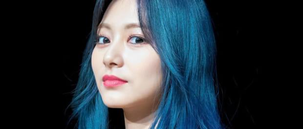 【悲報】TWICEの看板娘ツウィさん、髪を青色にしてしまう