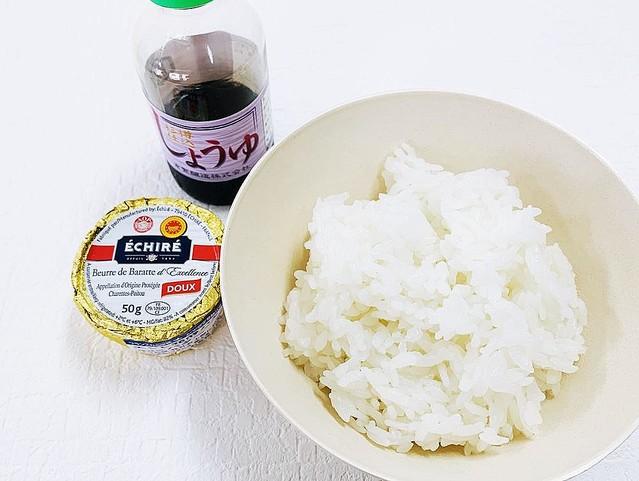 バター醤油ごはん