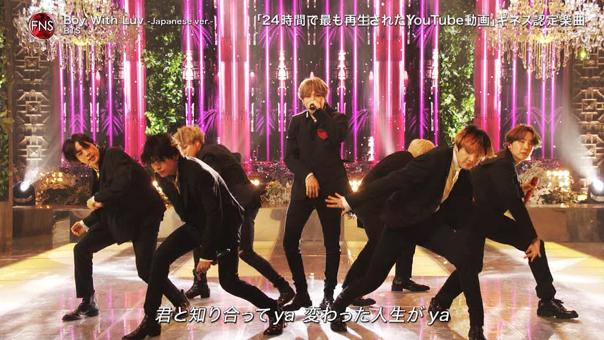 FNS歌謡祭2019 BTS