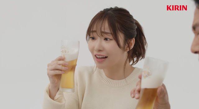 指原 ビール 一番搾り CM